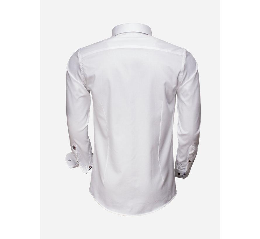 Overhemd  Lange Mouw 75508 White