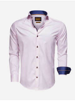 Wam Denim Overhemd Lange Mouw 75508 Pink