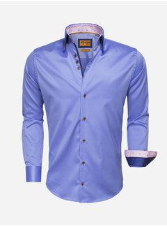 Wam Denim Overhemd Lange Mouw 75509 Blue