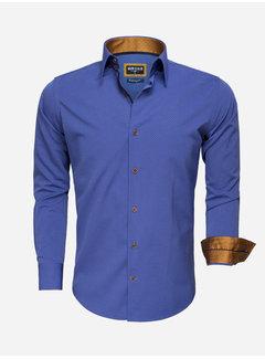 Wam Denim Shirt Long Sleeve 75516 Light Navy