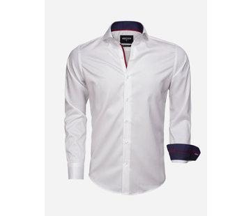 Wam Denim Shirt Long Sleeve 75529 White