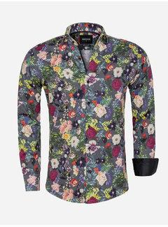 Wam Denim Shirt Long Sleeve 75564 Perugia Black
