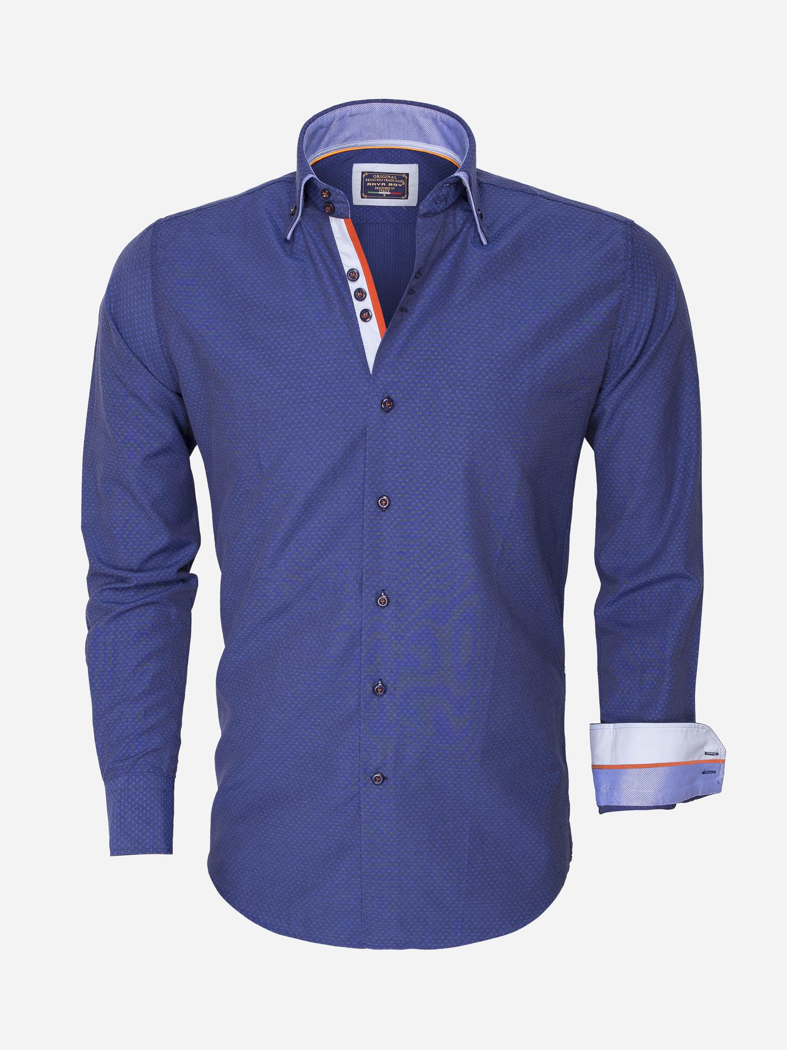 Arya Boy Overhemd Lange Mouw 852 Maat: L