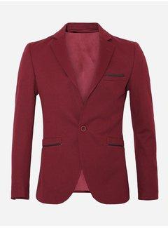 Black Fox Jacket  74038 Dark Red