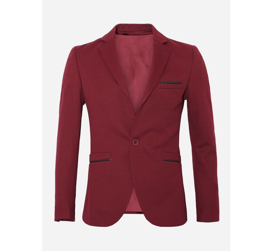 Jacket  74038 Dark Red