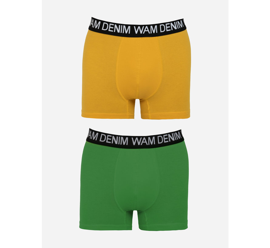 Boxer Milton  Dark Yellow Petrol 2Pack