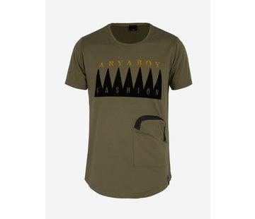Arya Boy T-Shirt 89322 Khaki