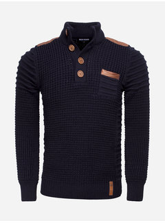 Wam Denim Sweater 77215 Navy