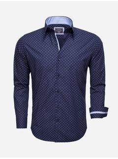Arya Boy Shirt Long Sleeve 85279 Navy Blue