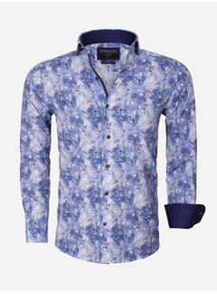 Gaznawi Overhemd Lange Mouw  65013 Dark Blue