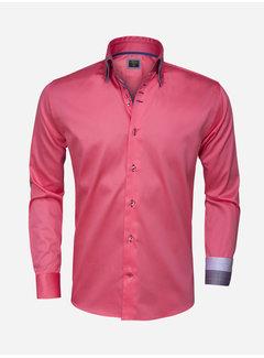 Wam Denim Overhemd Lange Mouw  75262 Light Pink
