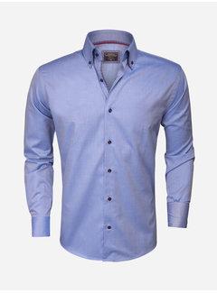 Wam Denim Overhemd  Lange Mouw 75297 Dark Blue