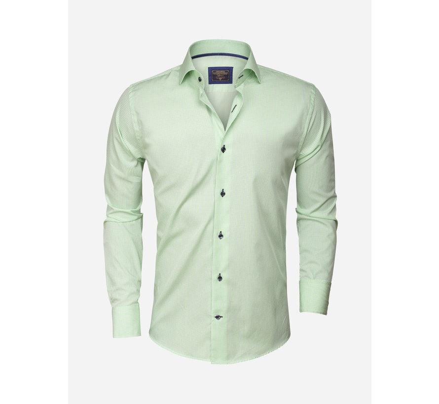 Overhemd  Lange Mouw75298 Green