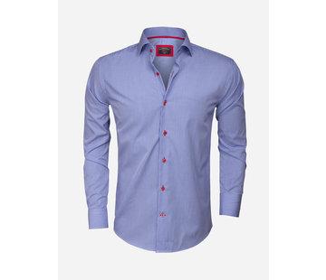 Wam Denim Overhemd  Lange Mouw 75298 ROYAL BLUE