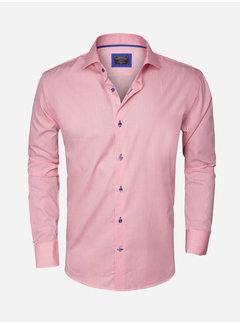 Wam Denim Overhemd Lange Mouw  75298 Pink