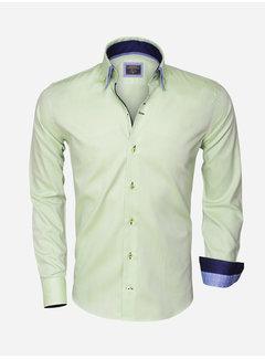 Wam Denim Overhemd Lange Mouw  75303 Green