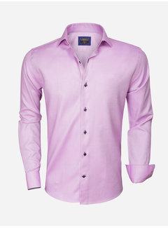 Wam Denim Overhemd Lange Mouw  75316 Pink