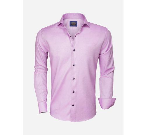 Wam Denim Shirt Langs Leeve 75316 Pink