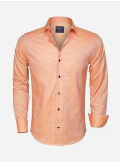 Wam Denim Shirt Long Sleeve  75316 Orange