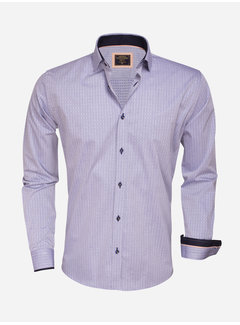 Wam Denim Overhemd Lange Mouw 75343 Dark Blue