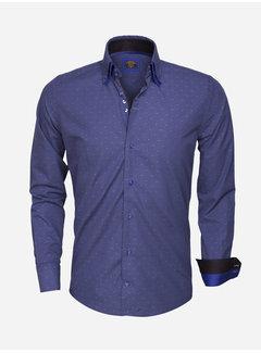 Wam Denim Overhemd Lange Mouw  75354 INDIGO