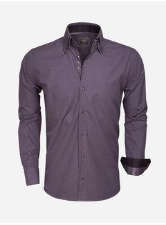 Wam Denim Overhemd Lange Mouw 75354 Anthracite