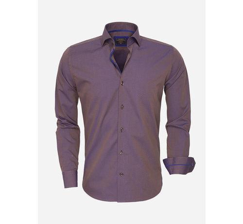 Wam Denim Shirt Langs Leeve 75417 Brown