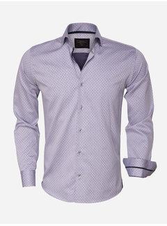 Wam Denim Overhemd Lange Mouw  75417 Grey