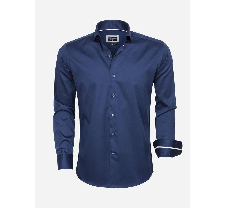 Overhemd Lange Mouw  75478 Navy
