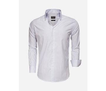 Wam Denim Overhemd Lange Mouw 75501 Blue