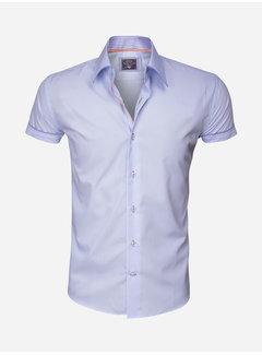 Arya Boy Overhemd Korte Mouw 85223 Light Blue