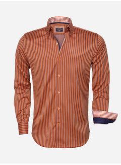 Wam Denim Shirt Langs Leeve 75395 Orange