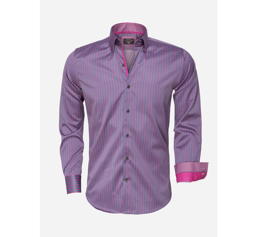 Shirt Langs Leeve 85266  Steel Grey