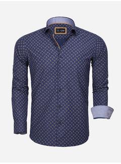 Arya Boy Shirt Long Sleeve  85282 Navy Peru
