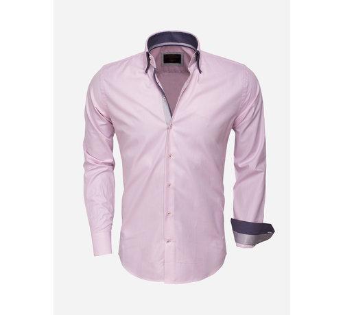 Wam Denim Shirt Langs Leeve 75223 Pink