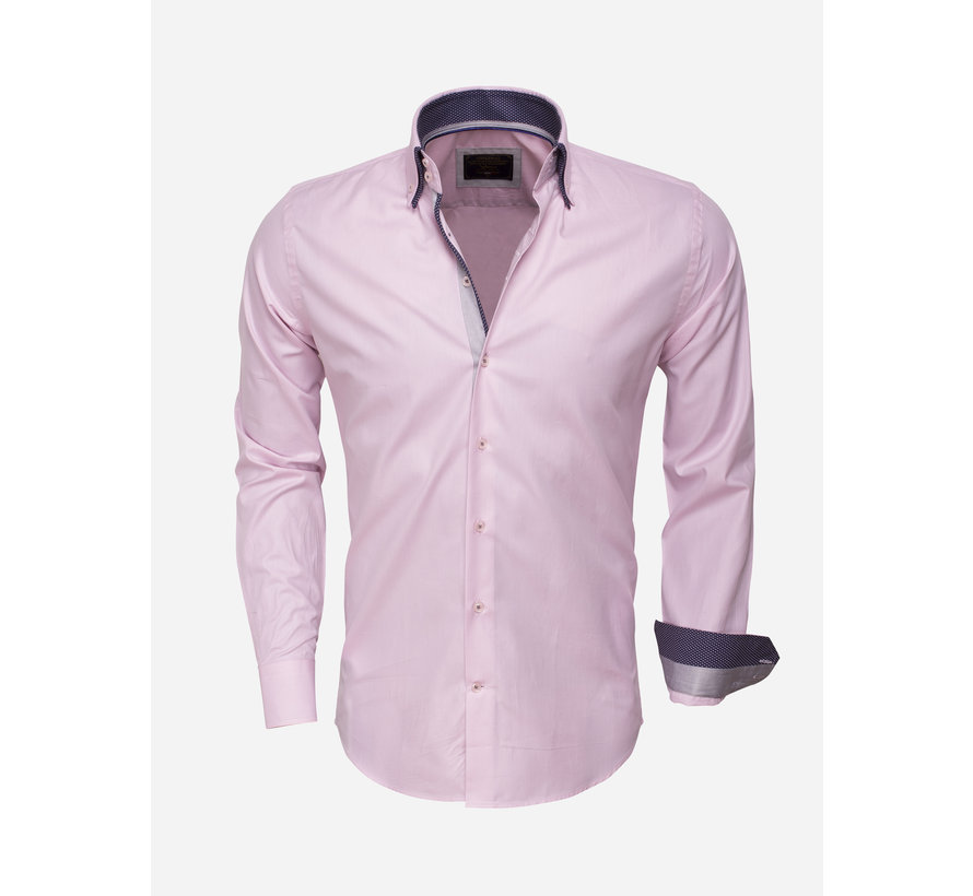 Shirt Langs Leeve 75223 Pink