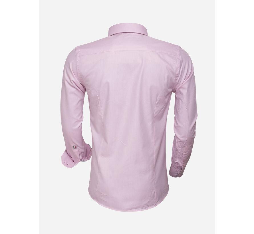 Overhemd Lange Mouw  75223 Pink
