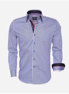 Wam Denim Shirt Langs Leeve 75458 Royal Blue