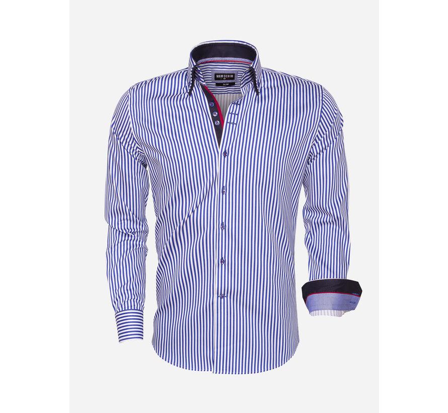 Shirt Langs Leeve 75458 Royal Blue