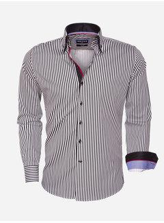 Wam Denim Overhemd Lange Mouw 75458 Black