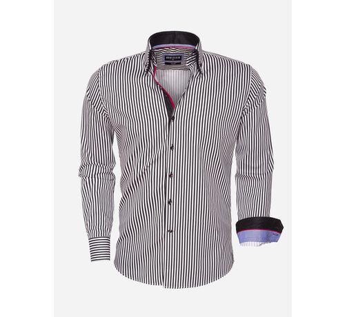 Wam Denim Shirt Long Sleeve 75458 Black