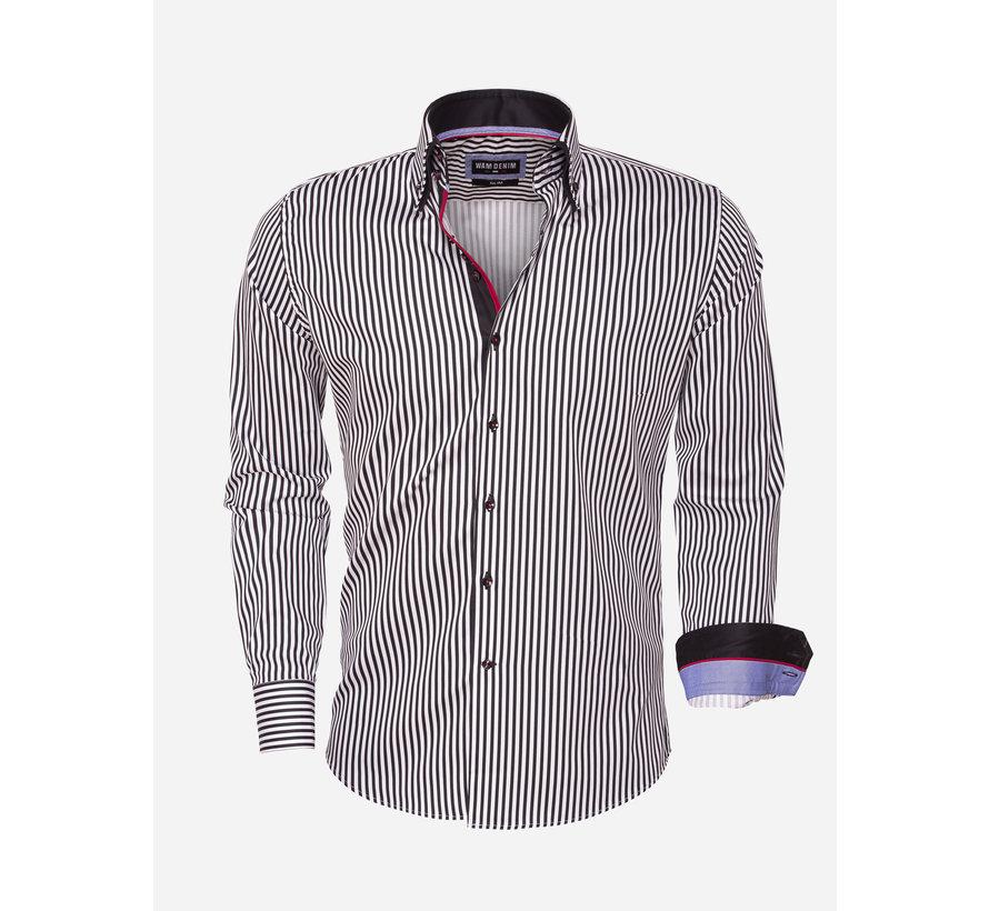 Shirt Long Sleeve 75458 Black