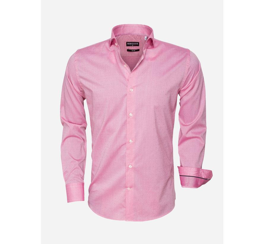 Overhemd Lange Mouw 75466 Pink