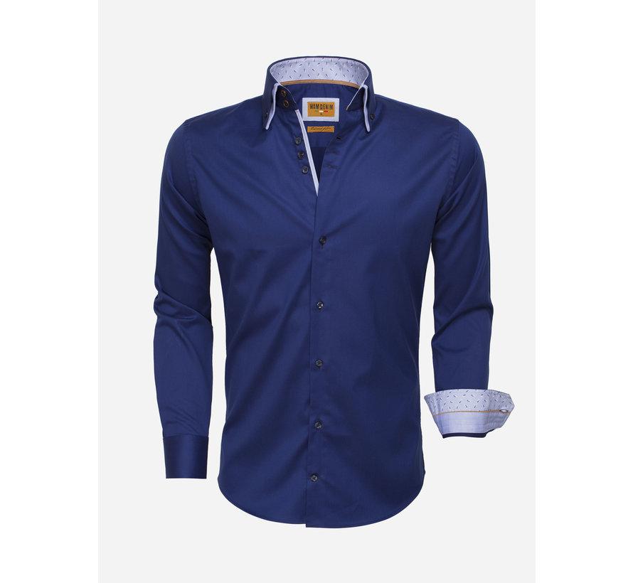 Shirt Langs Leeve 75515 Light Navy