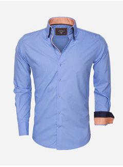 Arya Boy Overhemd Lange Mouw 85272 Blue