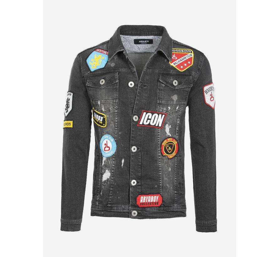 Denim Jacket Parfaid Black