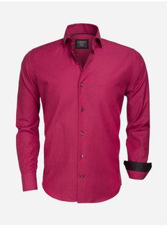 Wam Denim Shirt Long Sleeve  75359 Dark Red