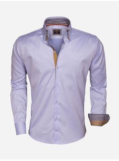 Wam Denim Overhemd  Lange Mouw 75379 Light Blue