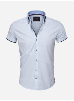 Wam Denim Shirt Langs Leeve 75412Light   Turquosise