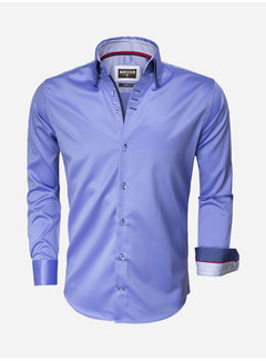Wam Denim Overhemd  Lange Mouw 75441 Blue